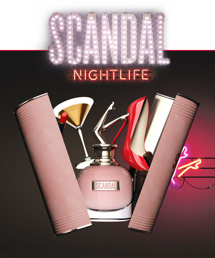 scandal - Jean Paul Gaultier - nightlife